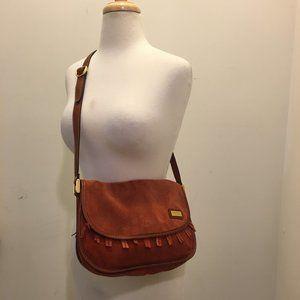 Yves Saint Laurent Vintage Bag Fringe  Suede